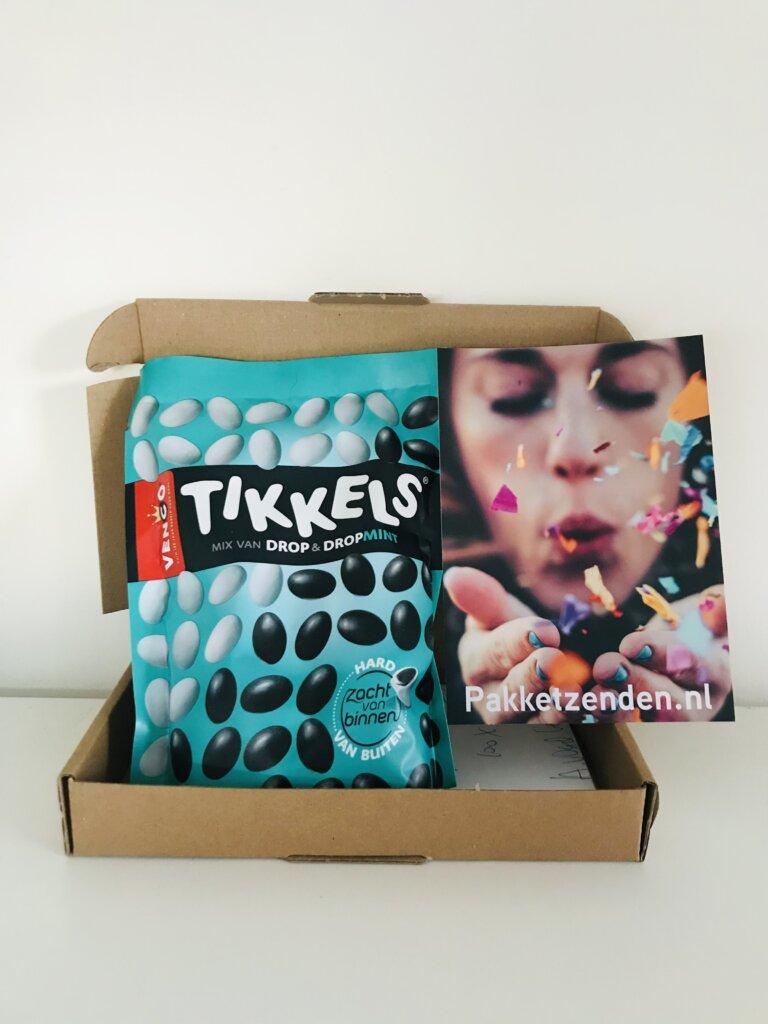 tikkels-voor-bikkels-brievenbuscadeau-brievenbusgeschenk-brievenbuspost-pakketzenden.nl-snoep