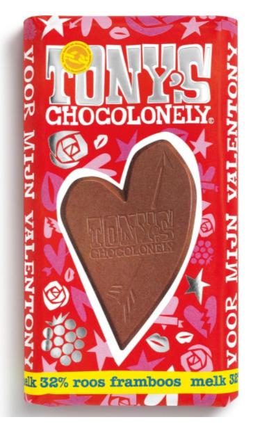 Tony-s-Chocolonely-Valentijnreep-Tony-s-Chocolonely-valentijnsreep- framboos-roos