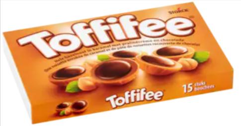 Toffifee-15-Stuks-125g-Bonbons-pralinés-Pakketzenden.nl-Thuiswerken-Toffe-collega-Brievenbuscadeau