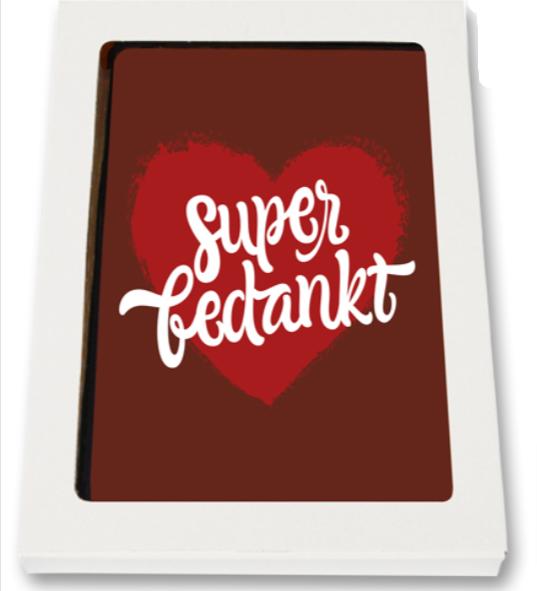 Chocolade-Kaart-Super-Bedankt-pakketzenden.nl-brievenbuscadeau-brievenbusgeschenk