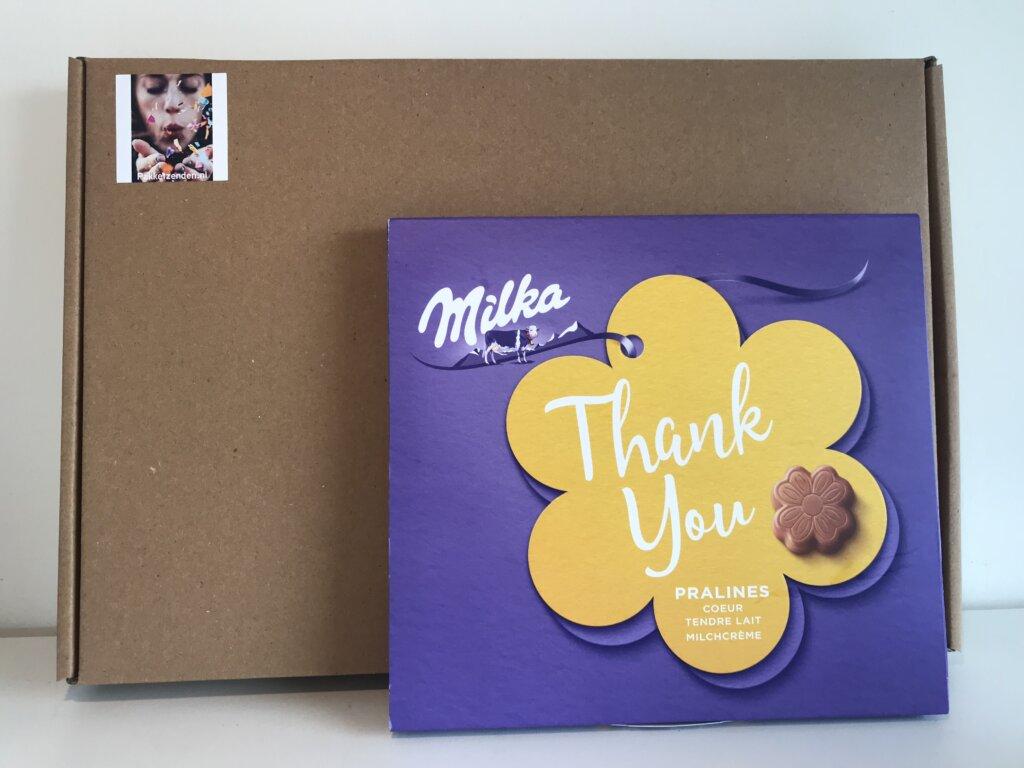 Bedankt-Pakket-chocolade-pralines-brievenbuscadeau-thuiswerken-brievenbusgeschenk-pakketzenden.nl-snoep
